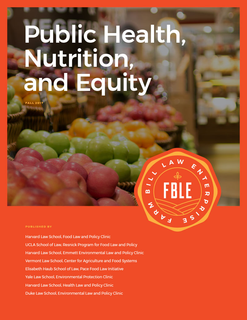 Food Access, Nutrition, and Public Health