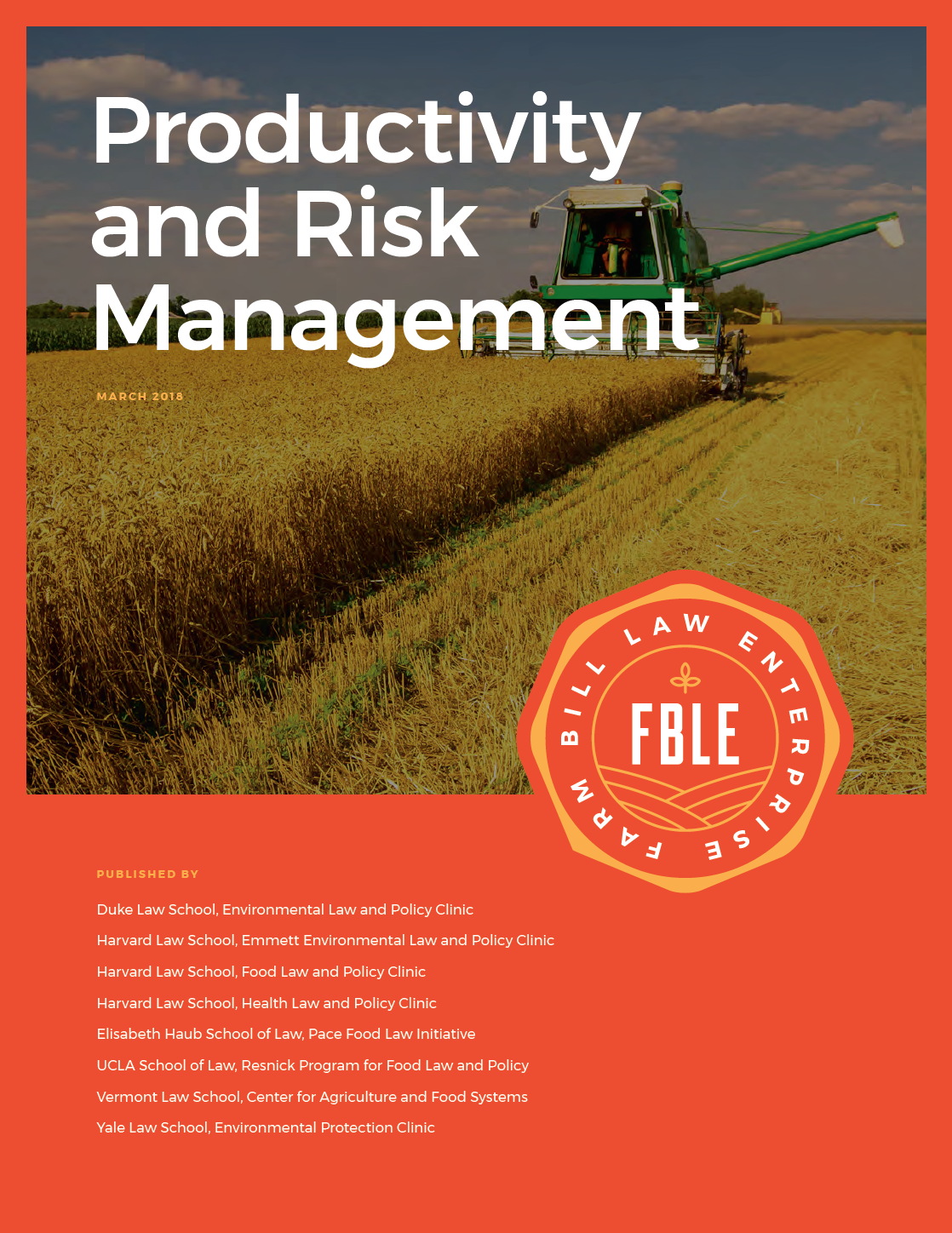 Productivity and Risk Management